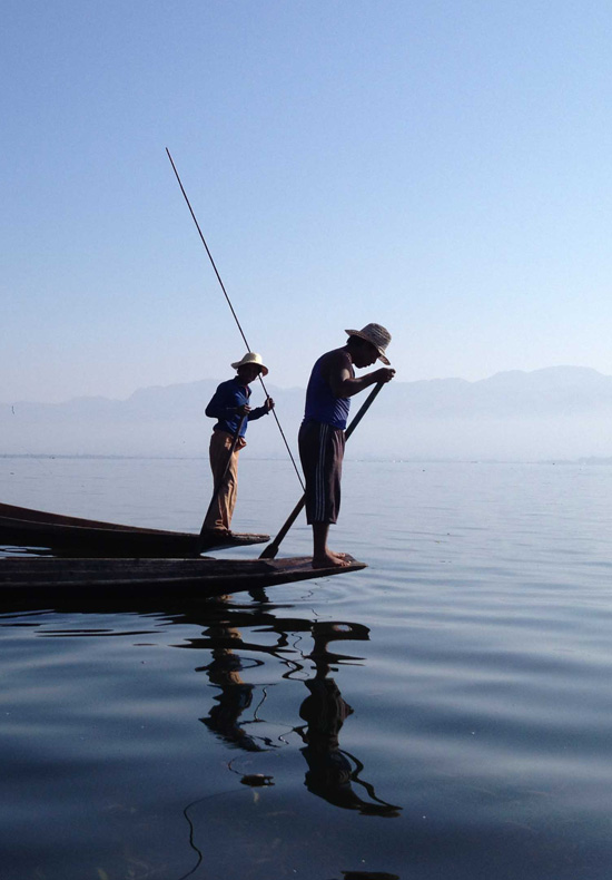 On Inle, Burma (Myanmar) by Kathryn Squire