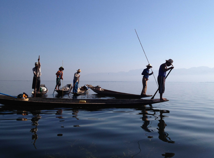 On Inle, Burma (Kathryn Squire)