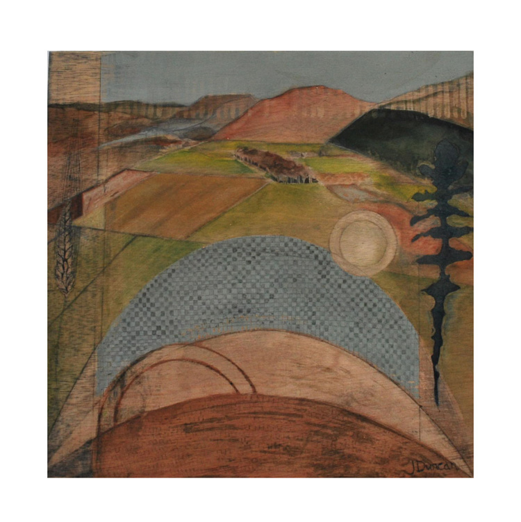 'Kilmartin' - Jean Duncan's art inspired by the ancient mounds and monuments of Kilmartin Glen, Argyll, and plant motifs from the Living Field (Jean Duncan)