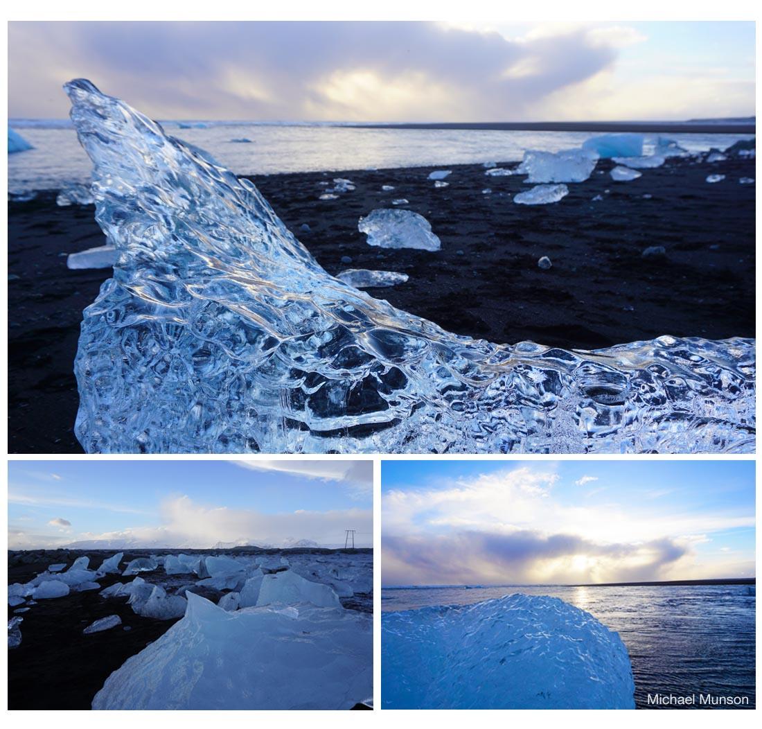 At Vatnajökull (Michael Munson / Kirsten Buchholz)